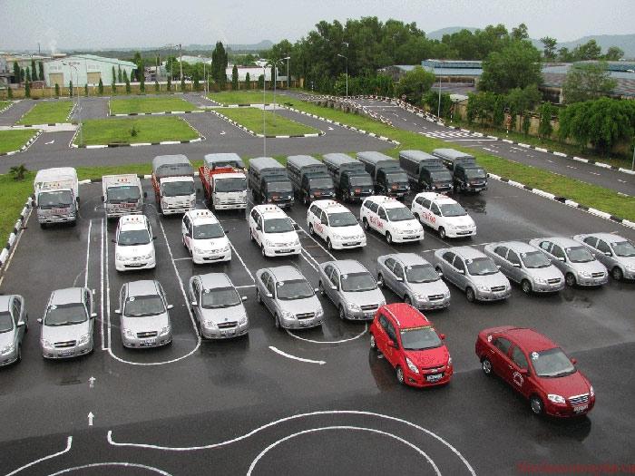 Học bằng lái xe ô tô tại Vinh