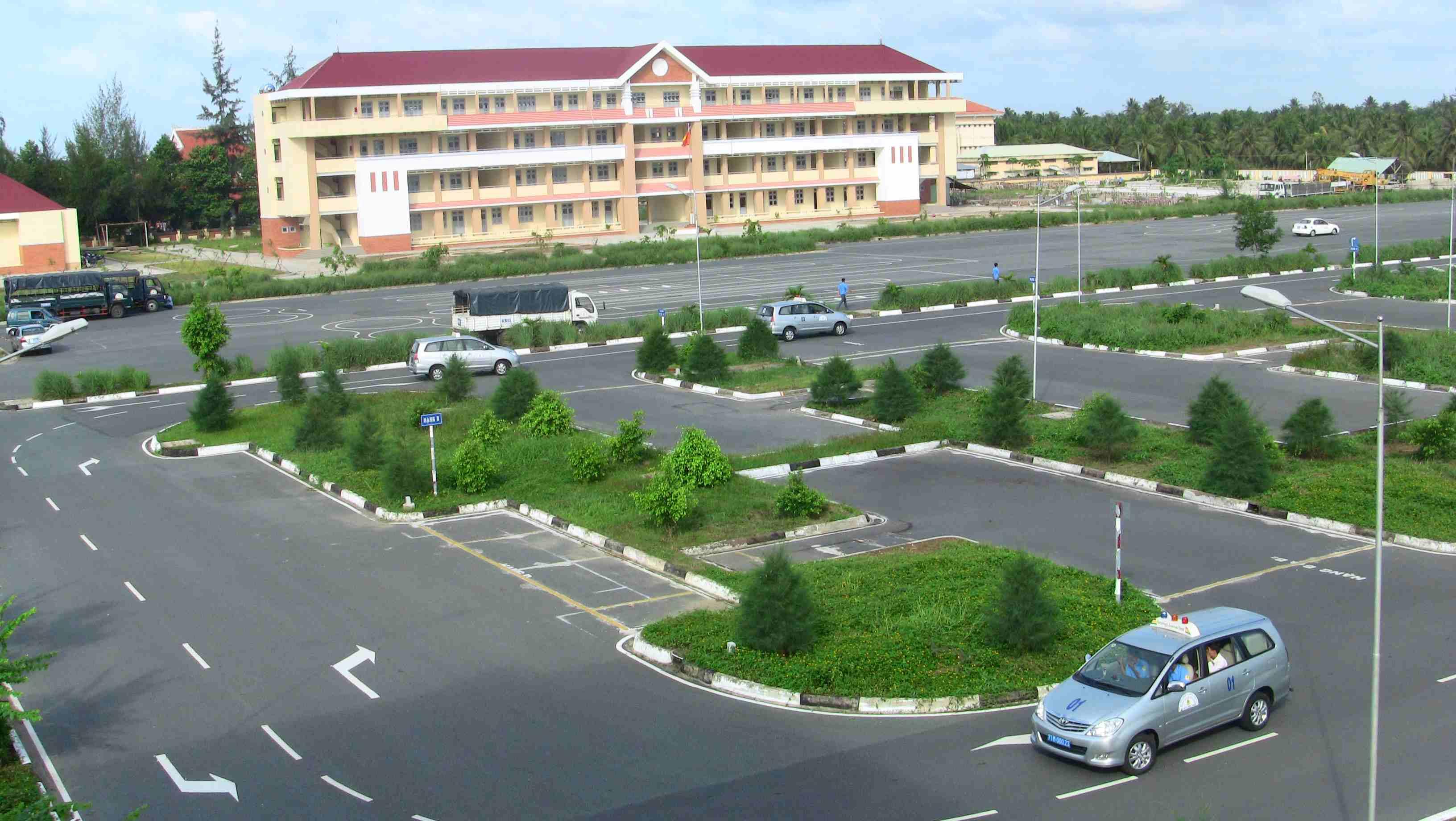 Trung tâm học lái xe tại Nghệ An